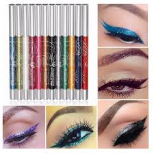 12 colors auto rotate ultra bright eyeshadow lip liner eyeliner pen makeup kit