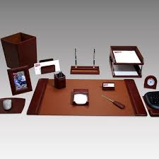 must have office accessories. New Executive Desk Accessories Geno 16-piece Leather Set Rrkarji Must Have Office E