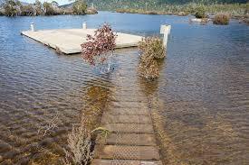 bert nichols to echo point overland track tasmania hiking fiasco boat jetty narcissus hut under water