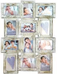 """<b>Фоторамка</b> """"Platinum"""", цвет: античный белый, на 12 <b>фото</b>, <b>10 х</b> ..."""