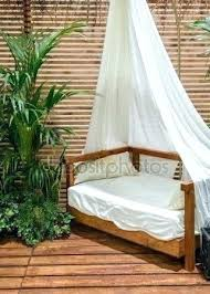 Modern Bamboo Bedroom Furniture Style Republic Lucky Java Canopy Bed ...