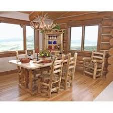 log furniture by s e tyler handcrafted rustic log furniture placerville california bistro flower table and chairs blue pine cedar log cabin