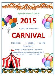 Carnival Flyers Templates Cheapscplays Com