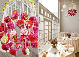 paper flower chandelier image collections decoration ideas