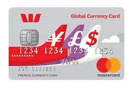 westpac global currency card
