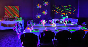 Photo 2 of 6 Neon-theme-party (exceptional Boy Sweet 16 Decorations #2)