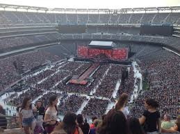 Metlife Seating Chart One Direction Metlife Stadium Section 323 Row 12 One Direction Tour