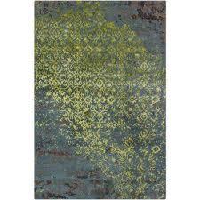 rupec blue green brown 5 ft x 8 ft indoor area rug