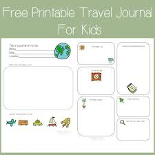 travel log templates the coolest travel journals for kids our very faves cool mom picks