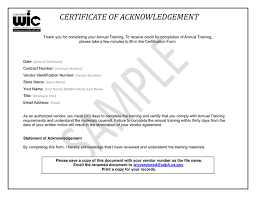 Annual Vendor Training Certificate In Word And Pdf Formats