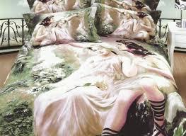 beautiful oil painting 4 piece 3d duvet cover sets