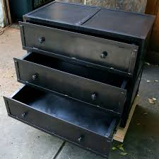 metal industrial furniture. Furniture Industrial Dresser For Your Home Interior Design Ideas: Metal With Storage R
