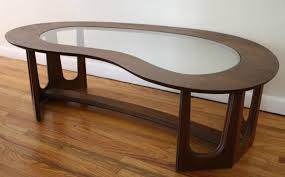 decor of kidney shaped coffee table with mid century modern kidney shaped coffee table picked vintage