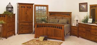 Oak Bedroom Suite Mission Style Furniture