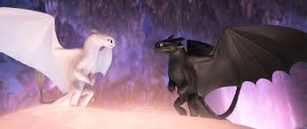 Light Fury And Toothless Baby Exclusive Clip Dean Deblois And Simon Otto Discuss Hidden