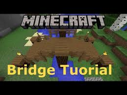 Wooden Bridge Game MINECRAFT How to Build a Small Wooden Bridge YouTube 87