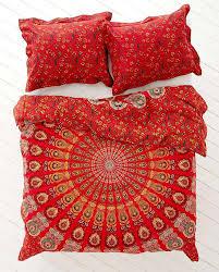new urban outfitters hippie mandala cotton duvet cover fullqueen