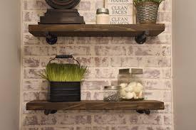 diy rustic wood shelves diy toilet