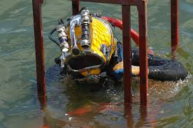 Dive team demonstrates its quick-response capability
