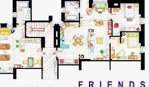 floor plans the most famous tv show homes by size handphone