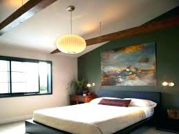 bedroom cool white bed low profile design and appealing drop ceiling lighting plus fetching