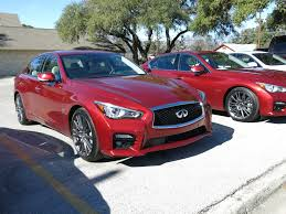 infiniti q50 coupe 2016. 2016 infiniti q50 red sport 400s in parking lot image alex dykes coupe