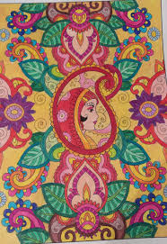 Creative Haven Mehndi Designs Coloring Book Page 1 By Puja723 On