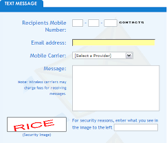 sending text message from email send free text messages to cell phones from your pc