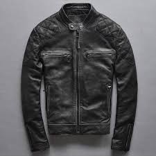 mens leather jacket er london uk