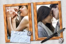 double photo frames editing al book
