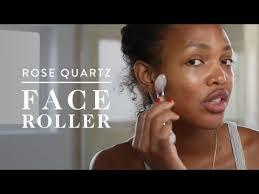 Rose Quartz Face Massage Roller | Megan Tries It | goop - YouTube