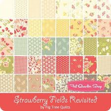 81 best Fabric, Fabric, and MORE Fabric! images on Pinterest | DIY ... & Strawberry Fields Revisited Yardage - Jan 2016 - Fig Tree Quilts for Moda  Fabrics Adamdwight.com
