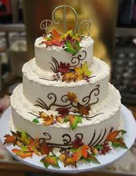 Fall Wedding Cake Flavors On Wedding Cakes With Local 14 Penganten