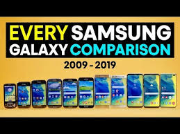 Every Samsung Galaxy S Comparison 2019 Youtube
