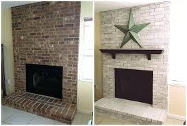 modren fireplace whitewashing fireplace bricks white wash brick whitewash with lime intended whitewash brick fireplace with lime e