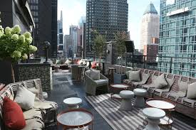 Nyc Penthouses For Parties Phd Terrace Opens At The Dream Hotel Midtown Wwd