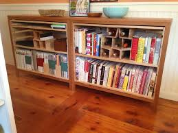 Custom Made Bookcase Winerack