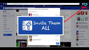 how to invite all friends to like facebook page in one 2017