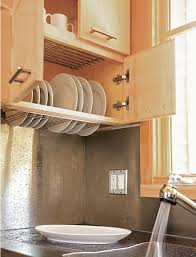 kitchen design get the dish rack off the counter so many ideas for hiding