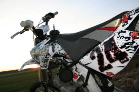 Yamaha Xtz 125 Decals Design Custom Seat Cover And Decal Designs Dualsport Fx