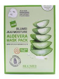Набор <b>тканевых масок</b> для лица увлажняющих <b>с Алоэ</b> Jeju ...