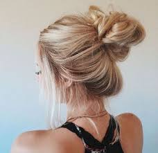 Image result for Summer Bun Hairstyles