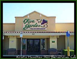 how about trying olive garden