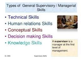 types of management skills supervisory management skills workshop www classifieds co zw