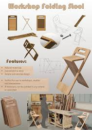 Design Workshop Stool Workshop Folding Stool By Anastasija Popova At Coroflot Com