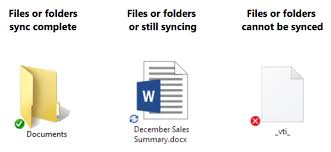 Sync Icon Overlays Are Missing From Onedrive And Onedrive