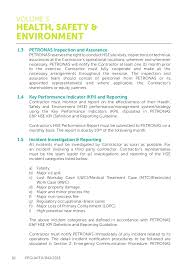 Petronas Health Safety And Environment Guidelines Hse