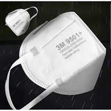 หน้ากากอนามัย แมส3M รุ่น N95 9501+ (10 ชิ้น) หน้ากากกรองฝุ่นPM2.5 (( ราคาส่ง  )) elcC