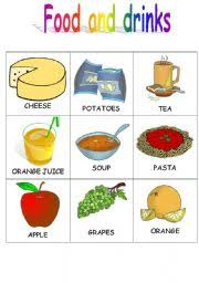 Food Flash Cards Food And Drinks Flashcards 3 4 Esl Worksheet By Stefania R