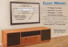 how to hang a tv mount. Brilliant Mount Cleat_Mount_TV_Mount_reviewjpg The Cleat Mount Universal TV  Intended How To Hang A Tv